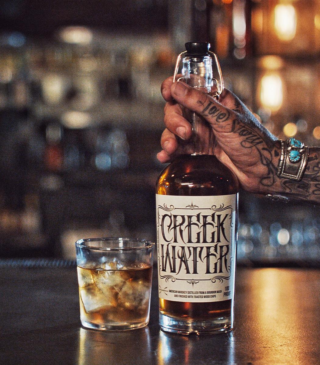 , Creek Water Whiskey