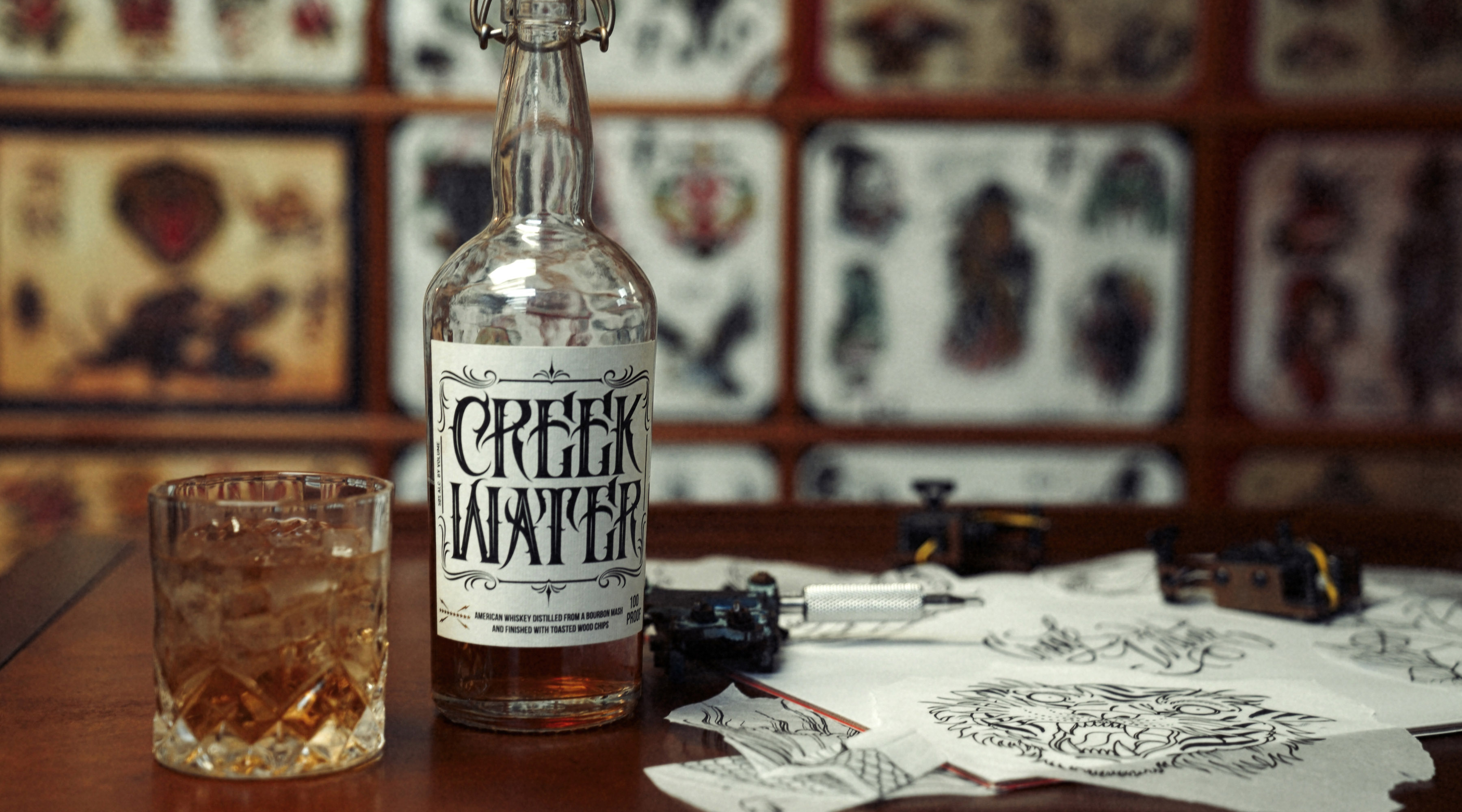 , Creek Water Whiskey